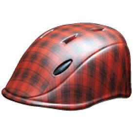 DICプラスチック ディーアイシープラスチック 子供用ヘルメット solano S(タータンレッド/Sサイズ)[SOLANOS]