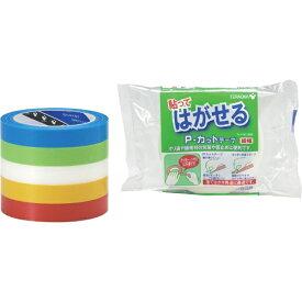 寺岡製作所 Teraoka Seisakusho P-カットテープ NO.4142 赤 18mmX25M 4142R18X25