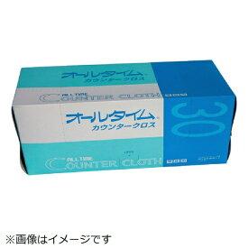 東京メディカル カウンタークロス厚口大判 61x61cm グリーン 30枚入り FT352《※画像はイメージです。実際の商品とは異なります》