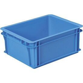 DICプラスチック ディーアイシープラスチック DA型コンテナDA-17 外寸:W405×D320×H170 青 DA17