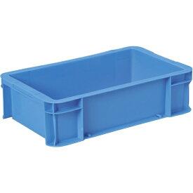 DICプラスチック ディーアイシープラスチック DA型コンテナ ボックス型 外寸:W450×D276×H124.5 青 DA12