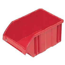 DICプラスチック ディーアイシープラスチック B型コンテナ B-2 外寸:W278×D188×H138 赤 B2
