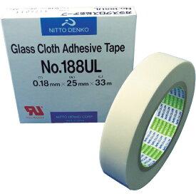 日東 Nitto ガラスクロス粘着テープ NO.188UL 25mmX33m 188UL25