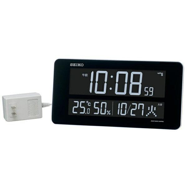 セイコー SEIKO 電波交流式掛け時計 シリーズC3 DL208W
