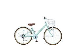 タマコシ Tamakoshi 24型 子供用自転車 マハロジュニアV246(グリーン/6段変速)【組立商品につき返品不可】 【代金引換配送不可】