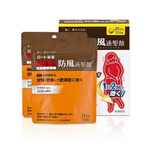 【第2類医薬品】 新・ロート防風通聖散錠T(224錠)ロート製薬 ROHTO