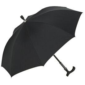 ウォーターフロント Waterfront 長傘 ステッキ傘 ブラック STC-1L60-UH [晴雨兼用傘 /60cm][STC1L60UH]