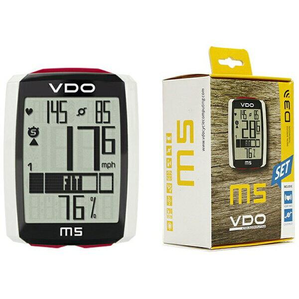 【送料無料】 VDO サイクルコンピュータ VDO M5 WL(ハイスペックモデル) 85905-00[VDOM5WL]