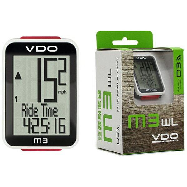 【送料無料】 VDO サイクルコンピュータ VDO M3 WL(ロードレーサーモデル) 85903-00[VDOM3WL]