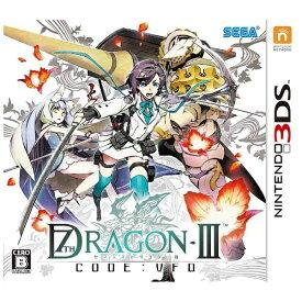 セガ SEGA セブンスドラゴンIII code:VFD【3DSゲームソフト】