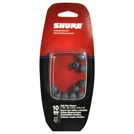 SHURE シュアー イヤーピース(Mサイズ/10個) EASFX1-10 M[EASFX110M]