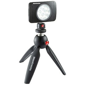 マンフロット Manfrotto LUMI MUSE LED PIXIミニ三脚黒 KIT[JPMUSEPIXIKT]