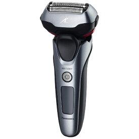 パナソニック Panasonic ES-LT5A メンズシェーバー ラムダッシュ グレー [3枚刃 /国内・海外対応][電気シェーバー 男性 髭剃り ESLT5AH]