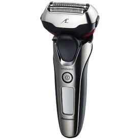 パナソニック Panasonic リニアシェーバー[国内・海外対応] LAMDASH(ラムダッシュ) シルバー調 ES-LT8A-S [3枚刃 /AC100V-240V][電気シェーバー 男性 髭剃り ESLT8AS]