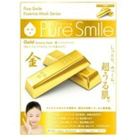 サンスマイル SunSmile Pure Smile(ピュアスマイル) エッセンスマスク 金 1枚入