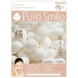 サンスマイル SunSmile Pure Smile(ピュアスマイル) エッセンスマスク 絹 1枚入