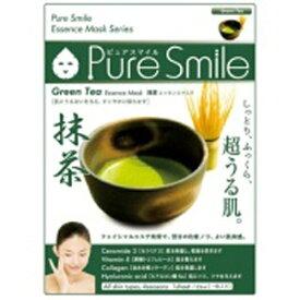 サンスマイル SunSmile Pure Smile(ピュアスマイル) エッセンスマスク 抹茶 1枚入
