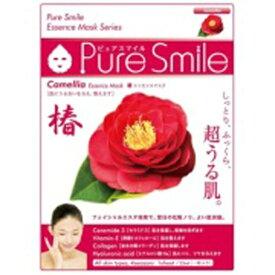 サンスマイル SunSmile Pure Smile(ピュアスマイル) エッセンスマスク 椿 1枚入