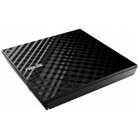 ASUS エイスース ポータブルDVDドライブ[USB2.0・Mac/Win] USBバスパワー対応 ブラック SDRW-08D2S-U LITE/BLK/G/AS/J[SDRW08D2SULITEBLKGAS]