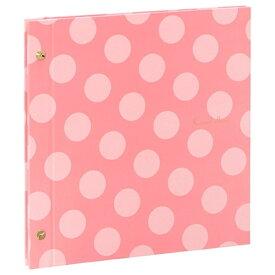 セキセイ SEKISEI ハーパーハウス カジュアルアルバム<ドット> フリー台紙タイプ(ピンク) XP-4310[XP4310]