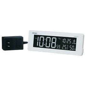 セイコー SEIKO 電波交流式目覚まし時計 シリーズC3 DL205W[DL205W]