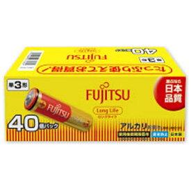 富士通 FUJITSU LR6FL-40S 単3電池 LongLife(ロングライフ) [40本 /アルカリ][LR6FL40S]