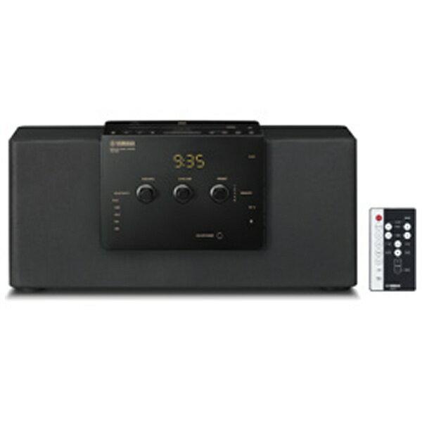 ヤマハ YAMAHA 【ワイドFM対応】Bluetooth対応 デスクトップオーディオシステム(ブラック) TSXB141B[TSXB141B]