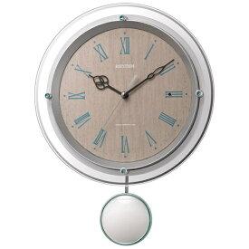 リズム時計 RHYTHM 掛け時計 【ソフレール】 8MX404SR03 [電波自動受信機能有]