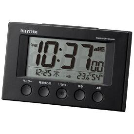 リズム時計 RHYTHM 目覚まし時計 【フィットウェーブスマート】 8RZ166SR02 [デジタル /電波自動受信機能有]