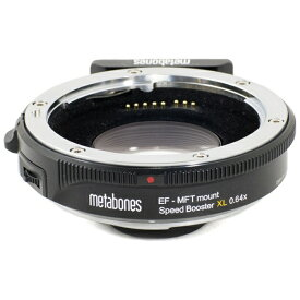 METABONES メタボーンズ マイクロフォーサーズマウント用EFマウントアダプター Speed Booster XL0.64 T 【ボディ側:マイクロフォーサーズ/レンズ側:キヤノンEF】[MBSPEFM43BT3]