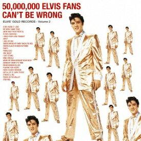 ソニーミュージックマーケティング エルヴィス・プレスリー/エルヴィスのゴールデン・レコード第2集 期間生産限定盤 【CD】