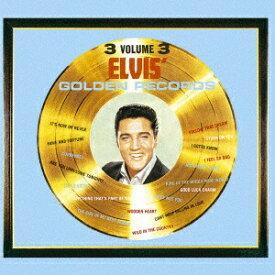 ソニーミュージックマーケティング エルヴィス・プレスリー/エルヴィスのゴールデン・レコード第3集 期間生産限定盤 【CD】