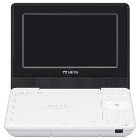 東芝 TOSHIBA SD-P710S ポータブルDVDプレーヤー REGZA(レグザ) ホワイト [7V型ワイド][SDP710S]