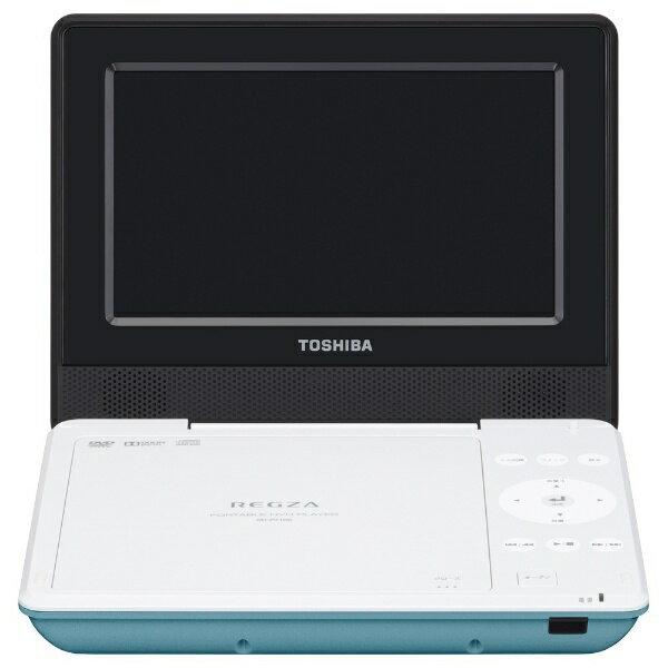 【送料無料】 東芝 7V型 ポータブルDVDプレーヤー SDP710S-G(グリーン)