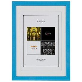 万丈 VANJOH KATY カラーフレーム(A4判/ブルー) KT-A4-BL[KATYカラーフレームA4ブルー]