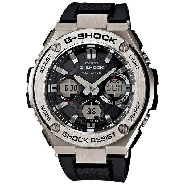 カシオ CASIO G-SHOCK(G-ショック) 「G-STEEL MULTI BAND 6(Gスチール マルチバンド6)」 GST-W110-1AJF[GSTW1101AJF]