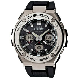 カシオ CASIO G-SHOCK(G-ショック) 「G-STEEL MULTI BAND 6(Gスチール マルチバンド6)」 GST-W110-1AJF[GSTW1101AJF]【point_rb】