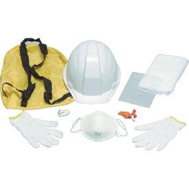 DICプラスチック ディーアイシープラスチック A-01防災用品セット 白 A01BOUSAI