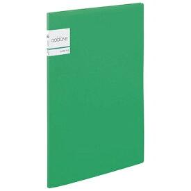 セキセイ SEKISEI クリヤーファイル A4-S 10ポケット addone (アドワン) グリーン AD-2011-30[AD2011]