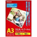 ナカバヤシ ラミネーター専用フィルム(A3・50枚) LPR-A3E2-15M[LPRA3E215]