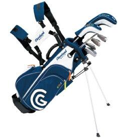 クリーブランド Cleveland GOLF ジュニア用 ゴルフクラブ セット MEDIUM SET(6本セット/キャディバッグ付/7歳〜10歳向け)[CGJM6S]