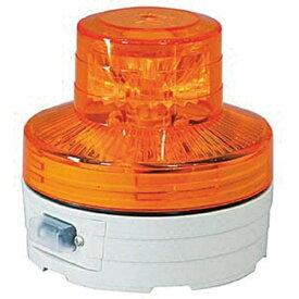 日動工業 NICHIDO 電池式LED回転灯ニコUFO 夜間自動点灯タイプ 黄 NUBY