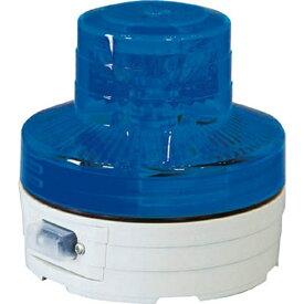 日動工業 NICHIDO 電池式LED回転灯 ニコUFO 夜間自動点灯タイプ 青 NUBB