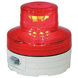 日動工業 NICHIDO 電池式LED回転灯ニコUFO 夜間自動点灯タイプ 赤 NUBR
