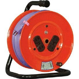 日動工業 NICHIDO 電工ドラム 標準型100Vドラム 2芯 30m ソフト電線 NR304DS