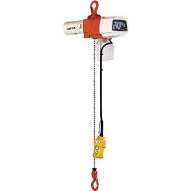 キトー KITO セレクト電気チェーンブロック1速 単相200V 240kg(S)x3m EDX24S