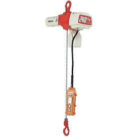 キトー KITO セレクト 電気チェーンブロック 2速選択 100kg(SD)x3m ED10SD