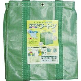 ユタカメイク YUTAKA 収集袋 ワンダーフートン 63×63×75 300リットル W12
