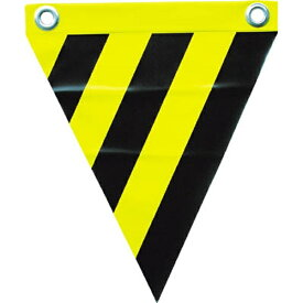 ユタカメイク YUTAKA 安全表示旗 (ハト目・トラ模様) AF1214 (1袋3枚)