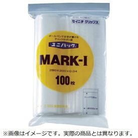 生産日本社 SEISANNIPPONSHA 「ユニパック」 MARK-G 200×140×0.04 100枚入 MARKG《※画像はイメージです。実際の商品とは異なります》
